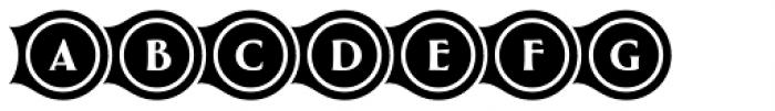 Greenleaf Links Two Ltd Font LOWERCASE