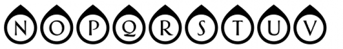 Greenleaf Northpoint Ltd Font UPPERCASE