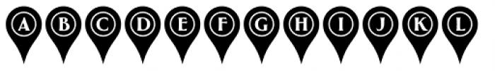 Greenleaf Pins Ltd Font LOWERCASE