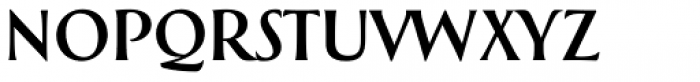 Greenleaf Regular Pro Font LOWERCASE