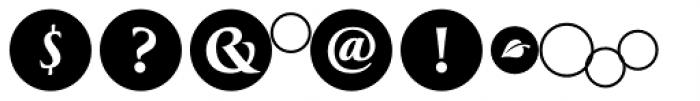 Greenleaf Shadows Ltd Font OTHER CHARS