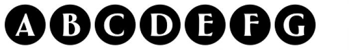 Greenleaf Shadows Ltd Font UPPERCASE