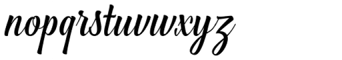 Greenlight Script Regular Font LOWERCASE