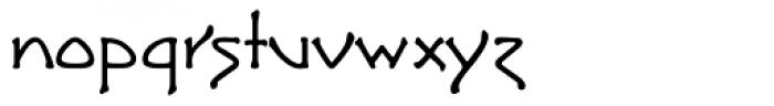 Greeting Monotone Font LOWERCASE