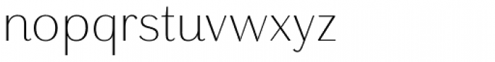 Grenale Nor Light Font LOWERCASE