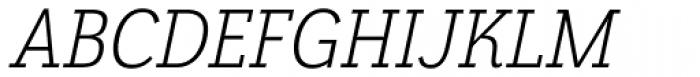 Grenale Slab Con Book Italic Font UPPERCASE