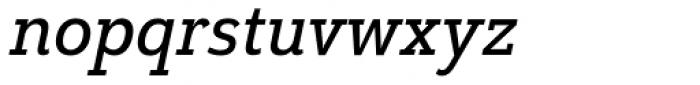 Grenale Slab Con Demi Italic Font LOWERCASE