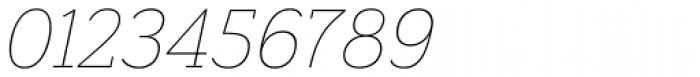Grenale Slab Ext Thin Italic Font OTHER CHARS