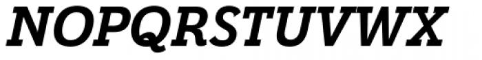 Grenale Slab Nor Black Italic Font UPPERCASE