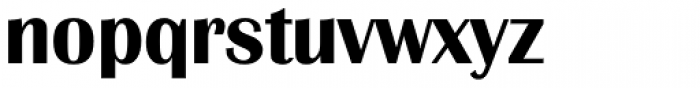 Grenoble Serial Bold Font LOWERCASE