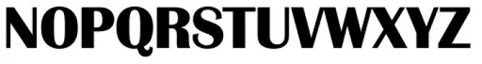 Grenoble Serial ExtraBold Font UPPERCASE