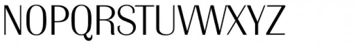 Grenoble Serial ExtraLight Font UPPERCASE