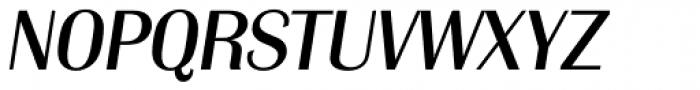 Grenoble Serial Italic Font UPPERCASE
