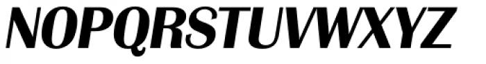 Grenoble TS Bold Italic Font UPPERCASE