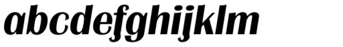 Grenoble TS Bold Italic Font LOWERCASE
