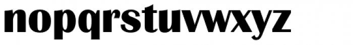Grenoble TS ExtraBold Font LOWERCASE