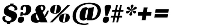 Grenoble TS Heavy Italic Font OTHER CHARS