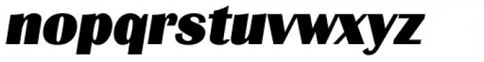 Grenoble TS Heavy Italic Font LOWERCASE