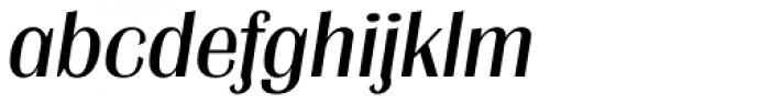 Grenoble TS Italic Font LOWERCASE