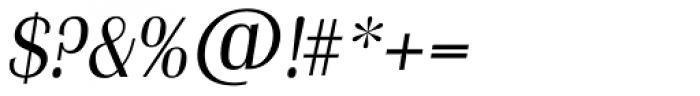 Grenoble TS Light Italic Font OTHER CHARS
