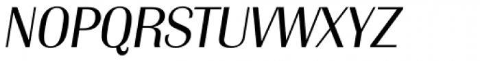 Grenoble TS Light Italic Font UPPERCASE