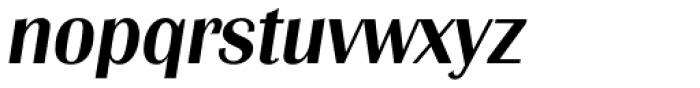 Grenoble TS Medium Italic Font LOWERCASE
