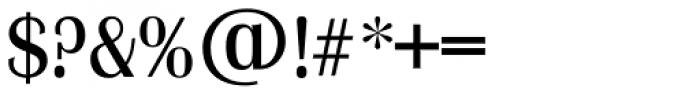 Grenoble TS Regular Font OTHER CHARS