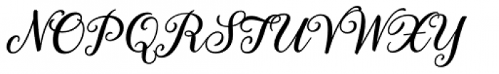 Gretel Script Grande Font UPPERCASE