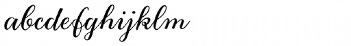 Gretel Script Grande Font LOWERCASE