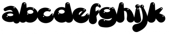 Gretoon Highlight Font LOWERCASE