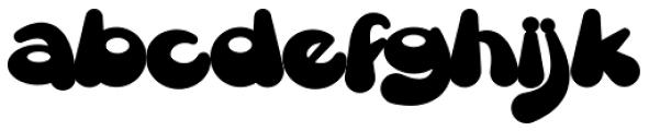 Gretoon Font LOWERCASE