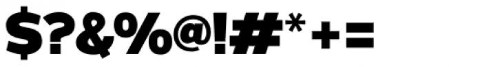 Grey Sans Black Font OTHER CHARS