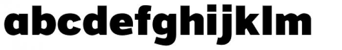 Grey Sans Black Font LOWERCASE
