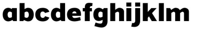 Grey Sans ExtraBold Font LOWERCASE