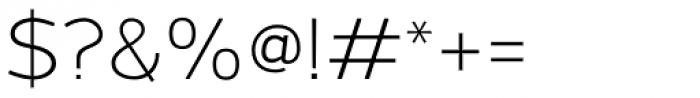 Grey Sans Light Font OTHER CHARS