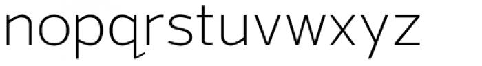 Grey Sans Light Font LOWERCASE