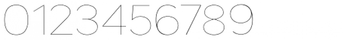 Grey Sans UltraThin Font OTHER CHARS