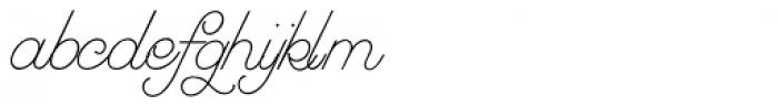 Greyhound Script Font LOWERCASE