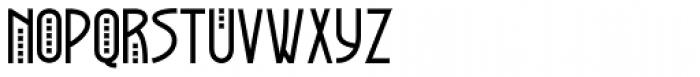 Greyhound Font UPPERCASE
