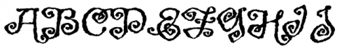 Greymantle MVB Extras Font LOWERCASE