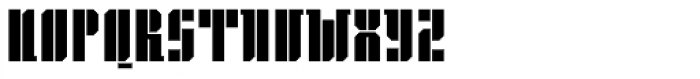 Gridiot Chunky Font UPPERCASE