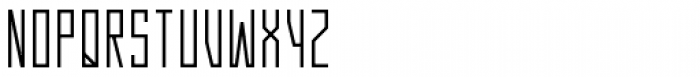 Gridlock Medium Font UPPERCASE