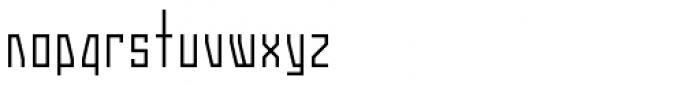 Gridlock Medium Font LOWERCASE