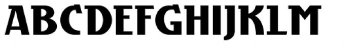 Grieshaber Monos NF Font UPPERCASE