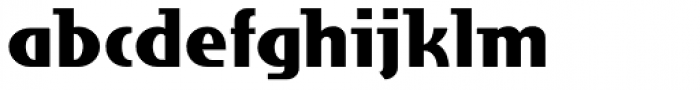 Grieshaber Monos NF Font LOWERCASE