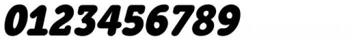 Grifa Slab Bold Italic Font OTHER CHARS