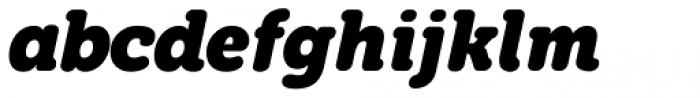 Grifa Slab Bold Italic Font LOWERCASE