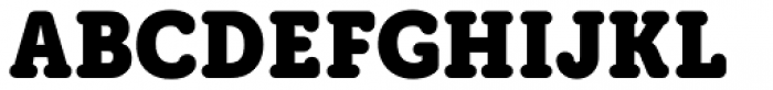 Grifa Slab Bold Font UPPERCASE