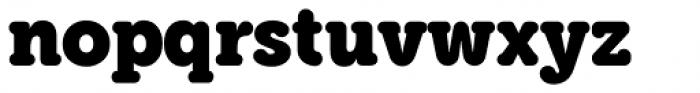 Grifa Slab Bold Font LOWERCASE
