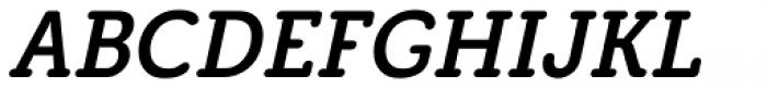 Grifa Slab Italic Font UPPERCASE